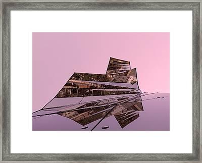 Modern Reflections ... Framed Print by Juergen Weiss