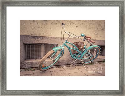 modern retro III Framed Print by Hannes Cmarits
