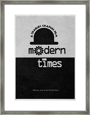 Modern Times Framed Print by Ayse Deniz