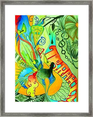 Modernfell Framed Print by Mylene Le Bouthillier