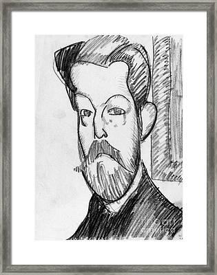 Modigliani - Paul Alexander Framed Print by Granger