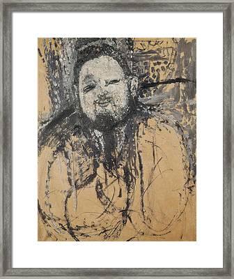 Modigliani, Amedeo 1884-1920. Diego Framed Print by Everett