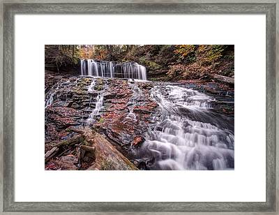 Mohawk Comes Alive After The Autumn Rain Framed Print by Gene Walls