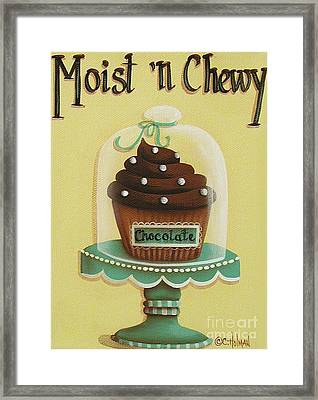 Moist 'n Chewy Framed Print by Catherine Holman
