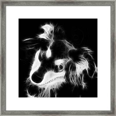 Moja - Black And White Framed Print by Marlene Watson