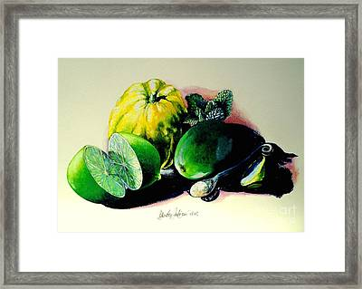 Mojito N.2 Framed Print by Alessandra Andrisani