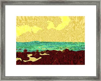 Moku Kapa 9 Framed Print by Kenneth Grzesik