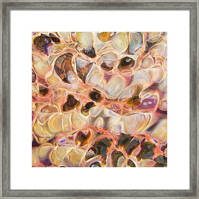Molten Framed Print by Jubilant  Art