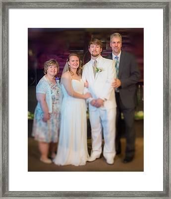 Mom Dad Framed Print by Ken Beatty