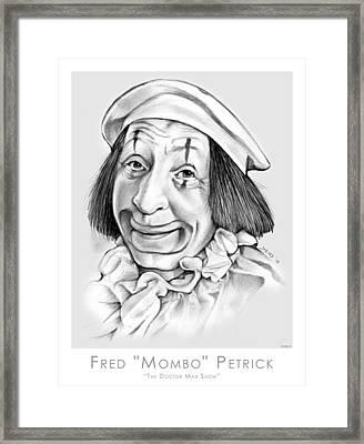Mombo Framed Print by Greg Joens