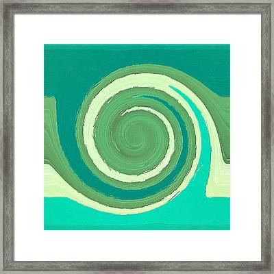 Moment Of Decision Framed Print by Bonnie Bruno