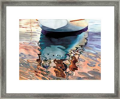 Moment Of Reflection Viia Framed Print by Marguerite Chadwick-Juner