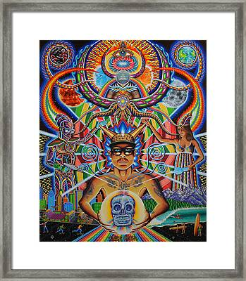 Moment Of Truth Framed Print by Chris Dyer