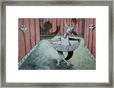 Momentis  The Dancer Framed Print by Mark M  Mellon