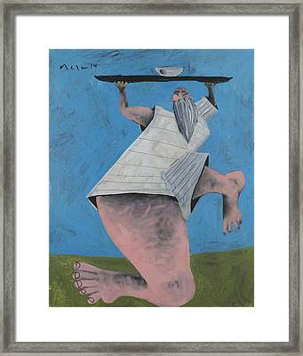 Momentis  The Offering Framed Print by Mark M  Mellon