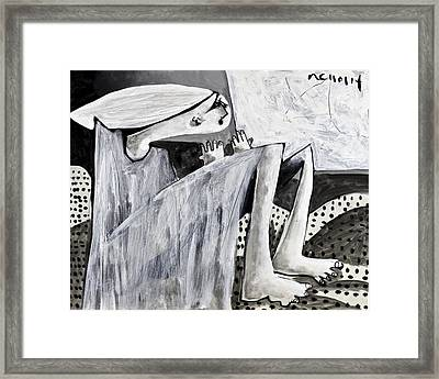 Momentis  The Storm Revisited Framed Print by Mark M  Mellon