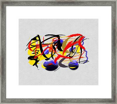 Moment Captured In Time Framed Print by Paulo Guimaraes