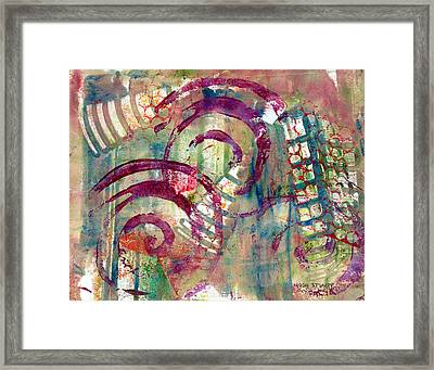 Moments Framed Print by Moon Stumpp