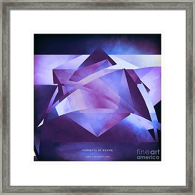 Moments Of Desire Framed Print by Lonnie Christopher