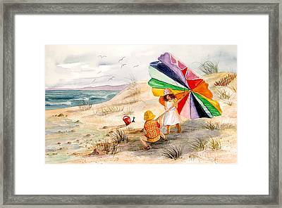 Moments To Remember Framed Print by Marilyn Smith