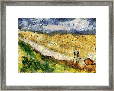 Momzie's Nature -t02-2v03f Framed Print by Variance Collections