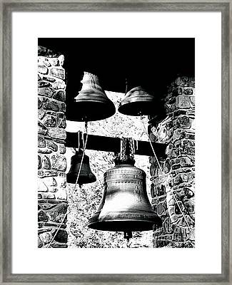 Monastery Bells Framed Print by Janine Riley