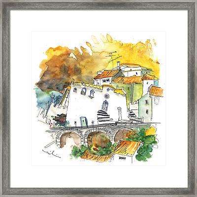 Monastery In Vinhais Framed Print by Miki De Goodaboom