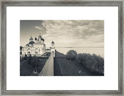 Monastery Of Saint Jacob Framed Print by Panoramic Images