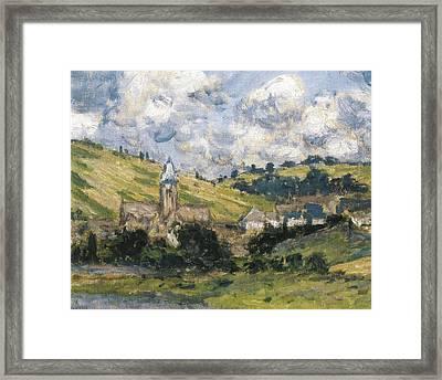 Monet, Claude 1840-1926. Landscape Framed Print by Everett