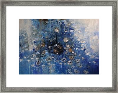 Monet Revisited -revisitando Monet Framed Print by Hermes Delicio