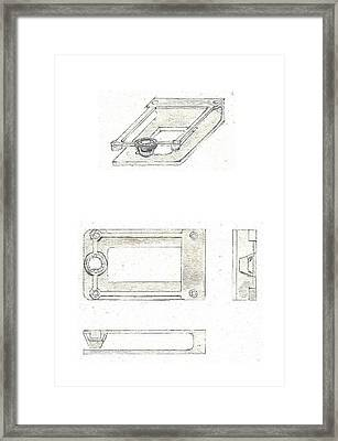 Money Clip 2 Framed Print by Giuliano Capogrossi Colognesi