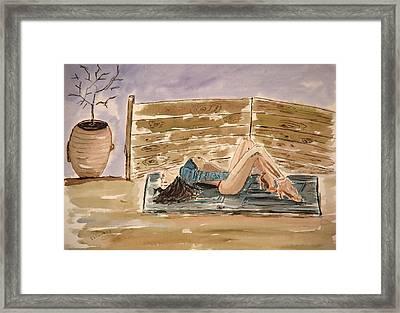 Monika Passion. Framed Print by Shlomo Zangilevitch