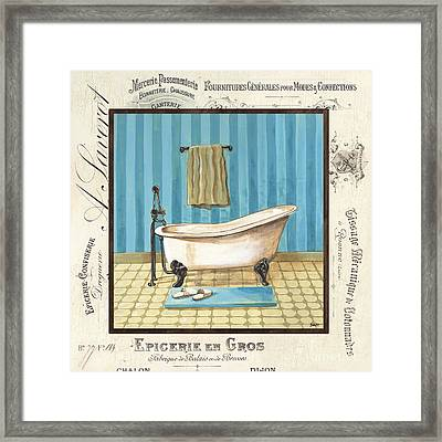 Monique Bath 1 Framed Print by Debbie DeWitt