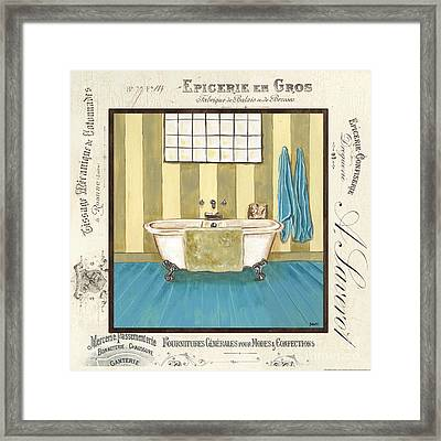 Monique Bath 2 Framed Print by Debbie DeWitt