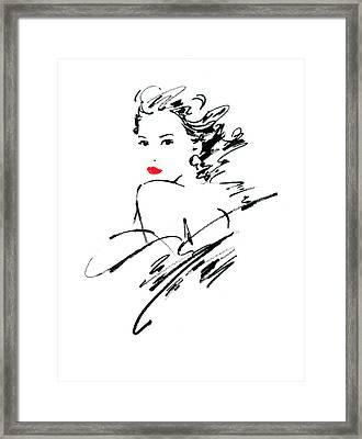 Monique Variant 1 Framed Print by Giannelli