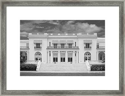 Monmouth University Guggenheim Library Framed Print by University Icons