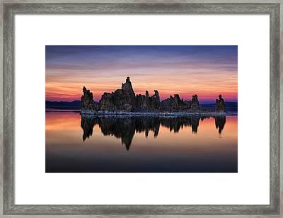 Mono Lake Framed Print by Andrew Soundarajan