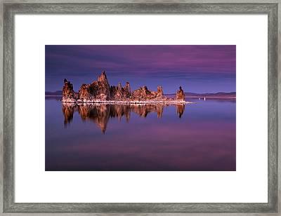 Mono Lake Evening Framed Print by Andrew Soundarajan