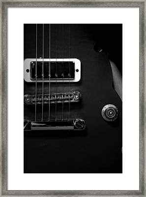 Monochrome Yamaha 3 Framed Print by David Weeks