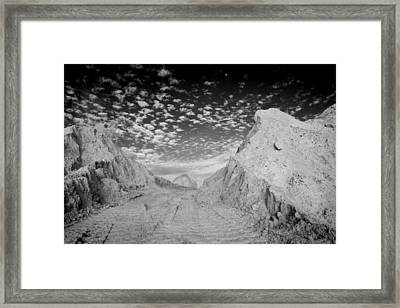 Monolith Framed Print by Stephen Mack