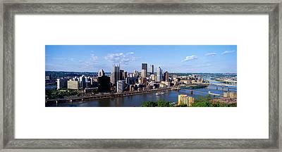 Monongahela River, Pittsburgh Framed Print by Panoramic Images