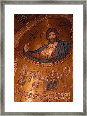 Monreale Cathedral, Sicily Framed Print by Catherine Ursillo