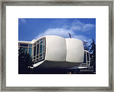 Monsanto House Of The Future At Disneyland 1961 Framed Print by The Phillip Harrington Collection