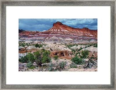 Monsoon Coming Framed Print by Kathleen Bishop