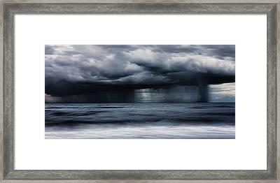 Monsoon Framed Print by Matt Dobson