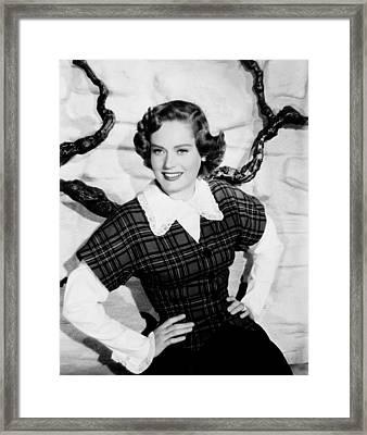 Montana, Alexis Smith, 1950 Framed Print by Everett