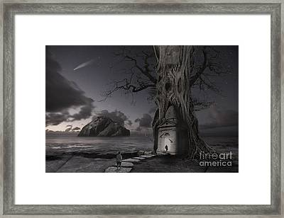 Monument Framed Print by Keith Kapple