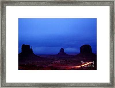 Monument Valley Awakens Framed Print by C Lythgo