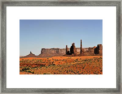 Monument Valley - Icon Of The West Framed Print by Christine Till