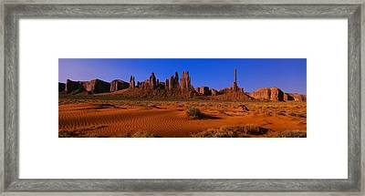 Monument Valley National Park, Arizona Framed Print by Panoramic Images